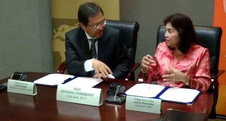 MoU Signing Ceremony IABC-HDC