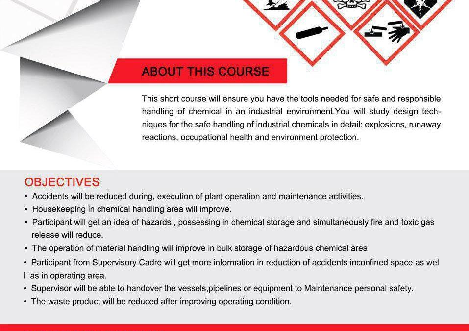 Handling Chemical Design for Safe Handling