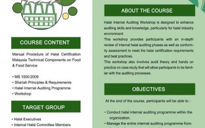 Halal Internal Auditing Workshop