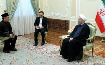 President Rouhani Calls for Closer Iran-Malaysia Ties