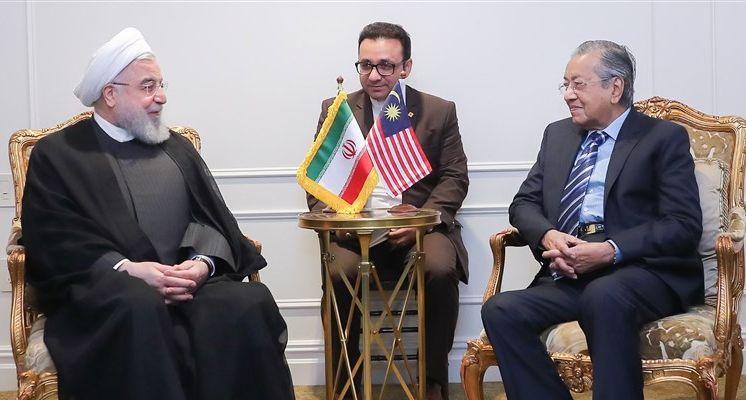 Iran's Rouhani, Malaysia's Mahathir Underscore Closer Tehran-Kuala Lumpur Ties