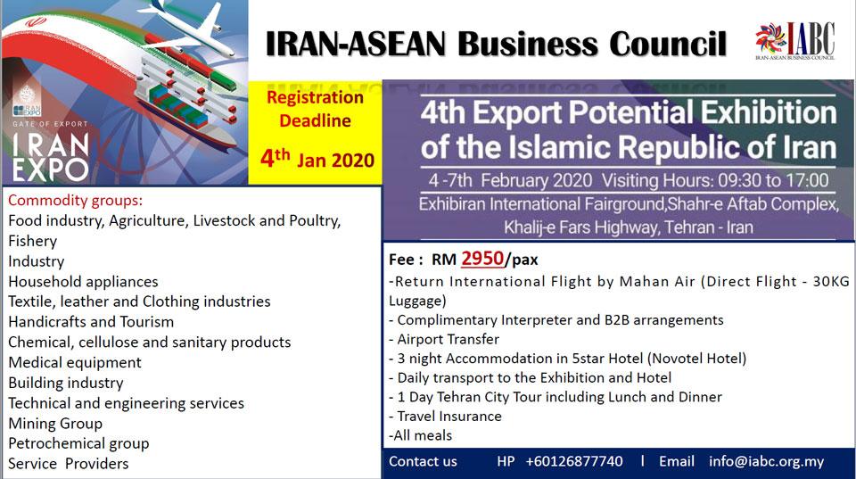 4th IRAN EXPORT POTENTIAL EXHIBITION