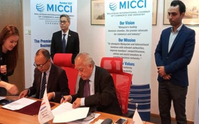 MOU Signing Ceremony MICCI and IABC 3rd  Nov 2020