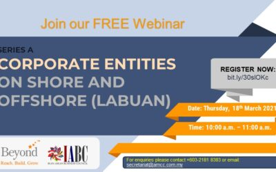 CORPORATE ENTITIES  ON SHORE (SDN BHD) AND OFFSHORE (LABUAN)